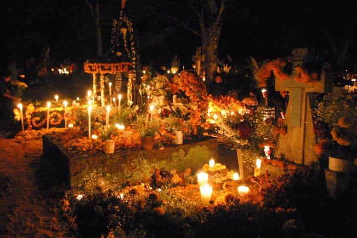 Noche de Muertos en Michoacán; uno de los Patrimonios de la Humanidad en Michoacán Foto: Archivo