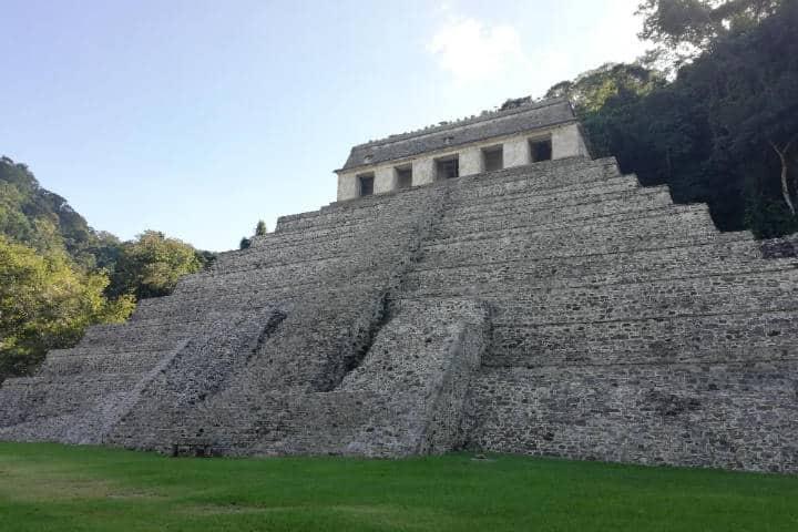 Palenque Prehispánico - Foto Luis Juárez J
