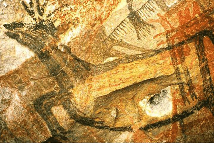 Pinturas rupestres del Vizcaíno Foto: www.asiesmimexico.mx