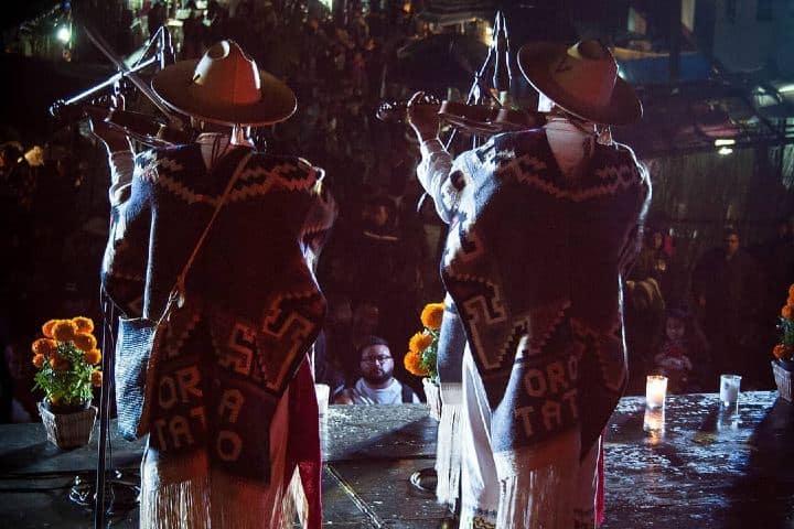 Pirekua en Día de Muertos Foto: gio_fotografia | Instagram