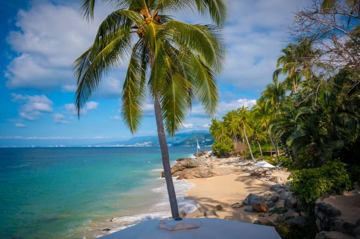 La reapertura de playas en Puerto Vallarta Foto: Archivo