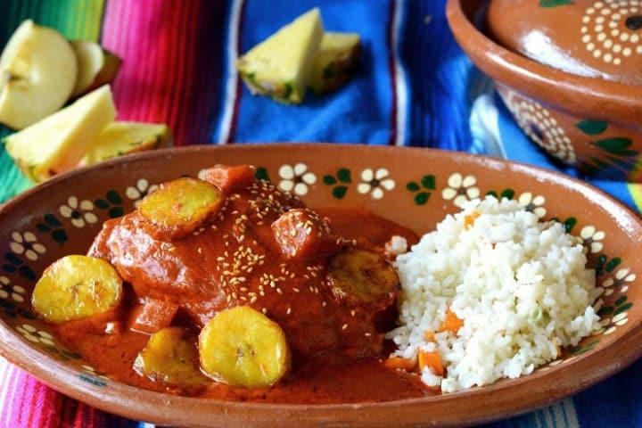 Prepara un rico mole manchamanteles Foto La cocina mexicana de Pily