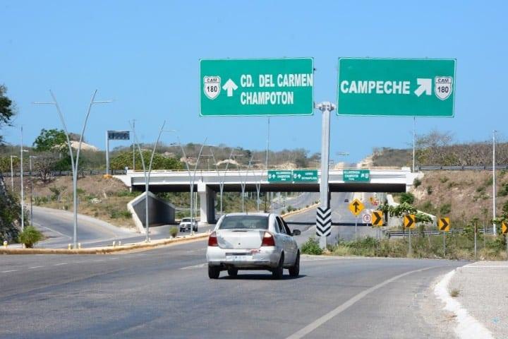 Puedes llegar a Campeche en auto Foto Tribuna Campeche