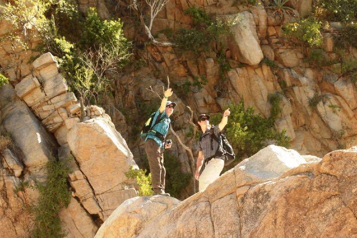 Puedes practicar el senderismo Foto Rancho Cacachilas