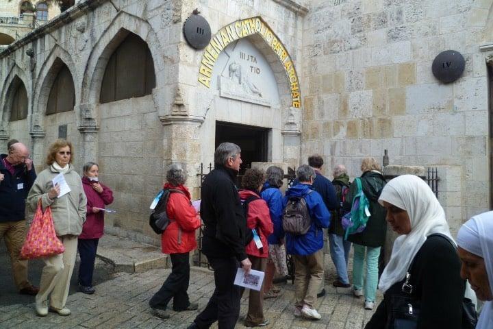Puedes recorrer la Vía Dolorosa Foto Diocese Oxford