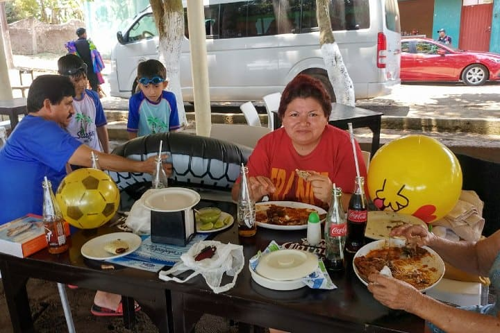 Restaurante en Playa Espagoya Foto: Vivi Fernandez