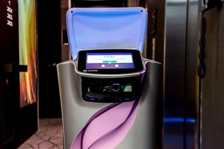 Robots de room service buscan hacer un mejor servicio en los hoteles Foto bjtonline.com