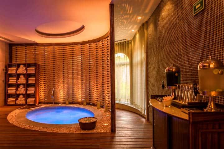El spa del hotel es uno de los espacios que podrás disfrutar Foto: Hotel Grand Luxxe