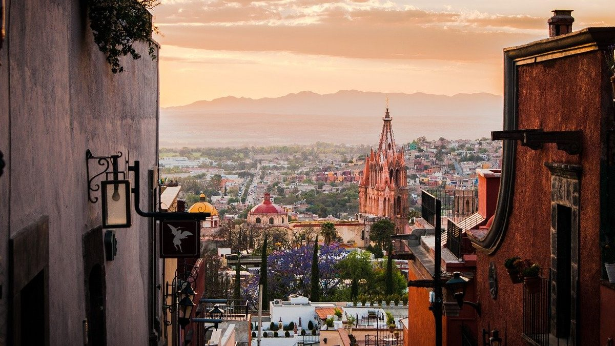 San Miguel de Allende. Foto Steven Reid portada.