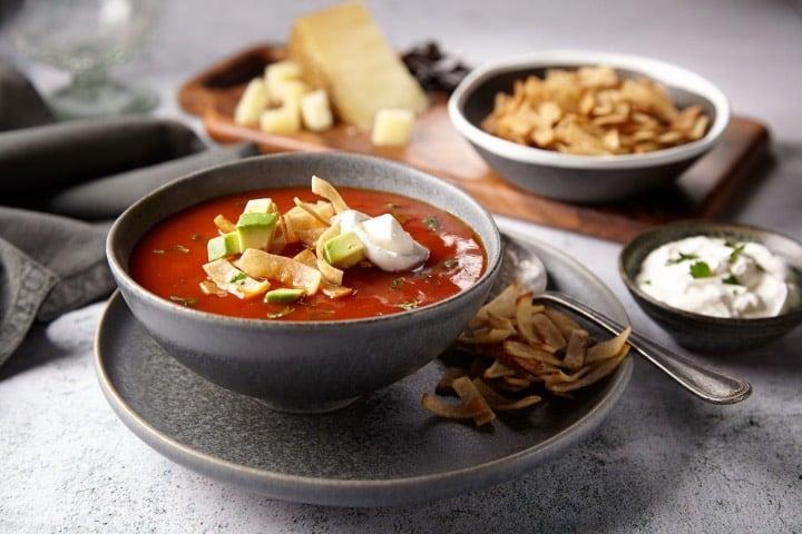Sopa azteca Foto Goya Food