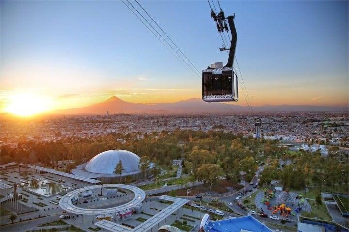 Sube al Teleférico de Puebla y avista la ciudad entera Foto: Puebla Travel