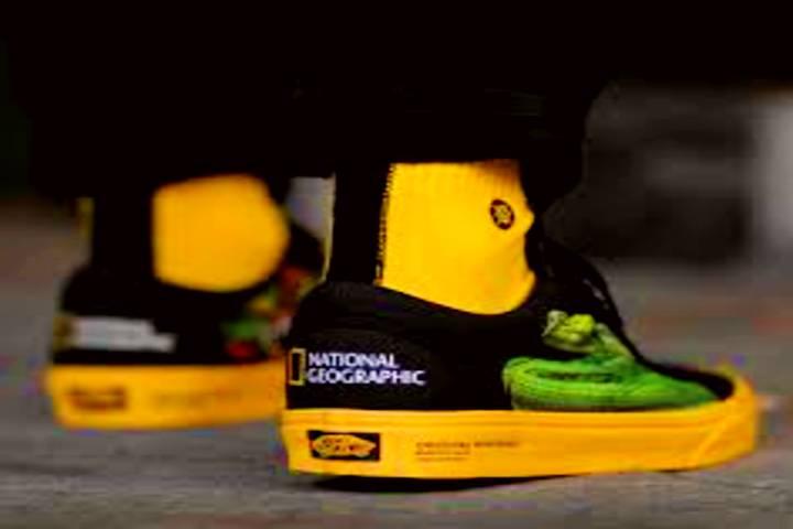 Colaboración de National Geographic y Vans. Foto: Facebook