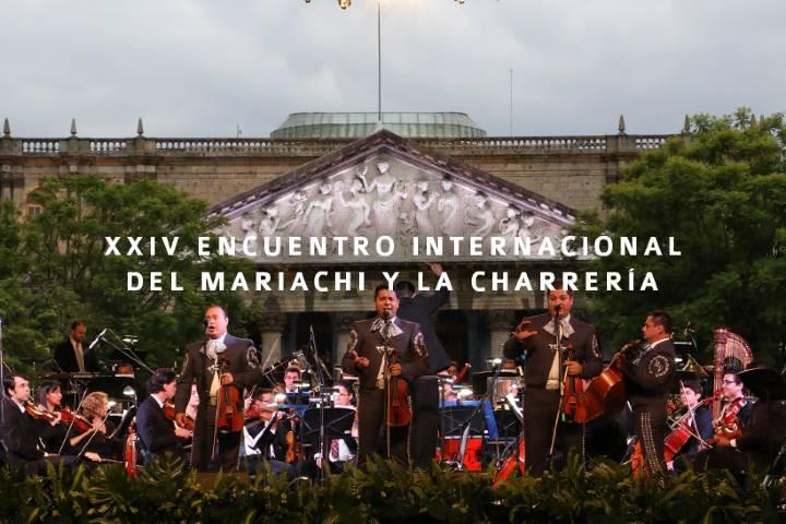 XXIV Encuentro Internacional del mariachi y la charrería Foto: Visita Guadalajara Archivo