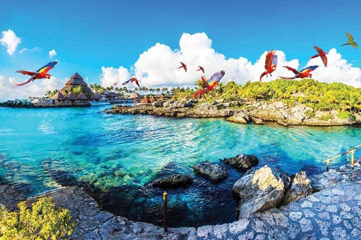 Xcaret es el destino paradisíaco mexicano por excelencia Foto: Jet News