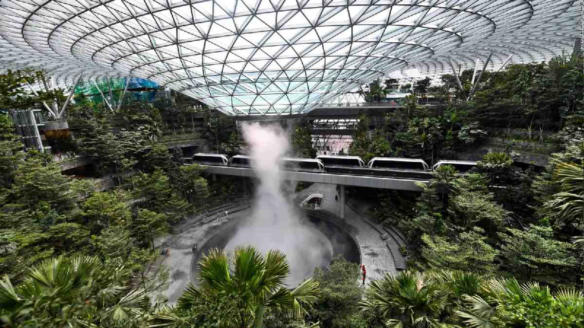 aeropuerto de Singapur- CNN en Español