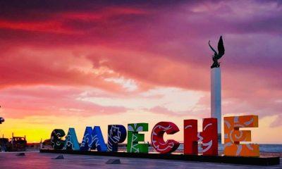 Atardecer en Campeche Foto: Alejandro Moreno