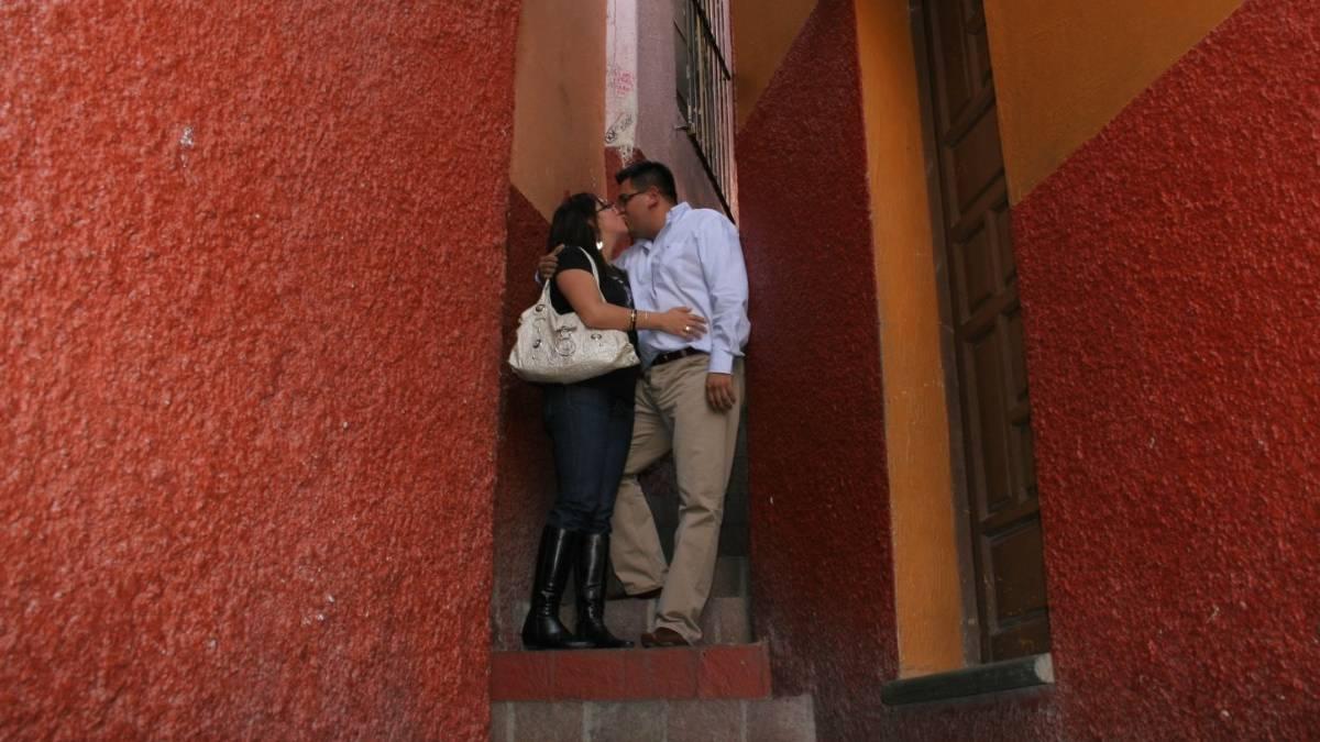 Callejón del beso. Imagen: Guanajuato. Archivo