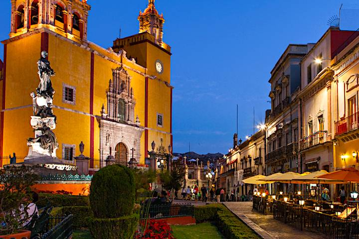 Centro Histórico de Guanajuato. Foto: Zona Turística Archivo