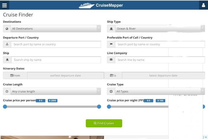 Entérate de los costos del crucero de tu preferencia en esta aplicación Foto: Archivo