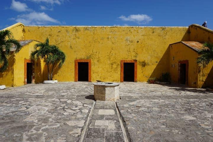 El día de hoy es el Museo Arqueológico de Campeche-Fuerte de San Miguel Foto: ammstravel.com