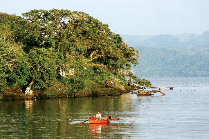 Laguna de Catemaco. Imagen: México desconocido