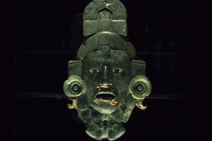 Mascara Calakmul es algo de lo que puedes encontrar en el Museo Arqueológico de Campeche-Fuerte de San Miguel Foto: Enrique Ordóñez