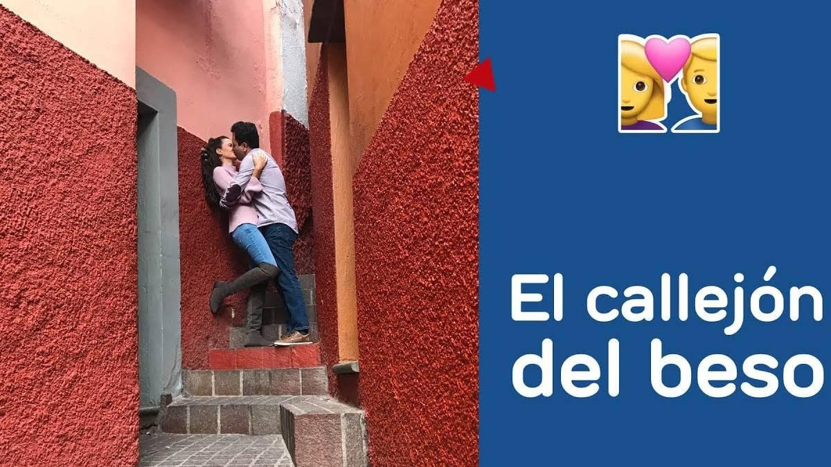 callejon del beso. Imagen: Guanajuato. Archivo