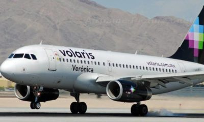 Avión Volaris. Foto: debate.com.mx Archivo