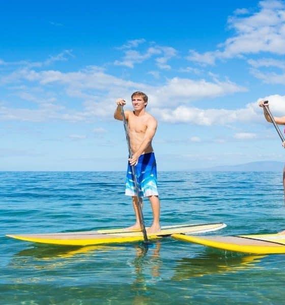 Paddle Board en Baja California Sur Foto: checkyeti