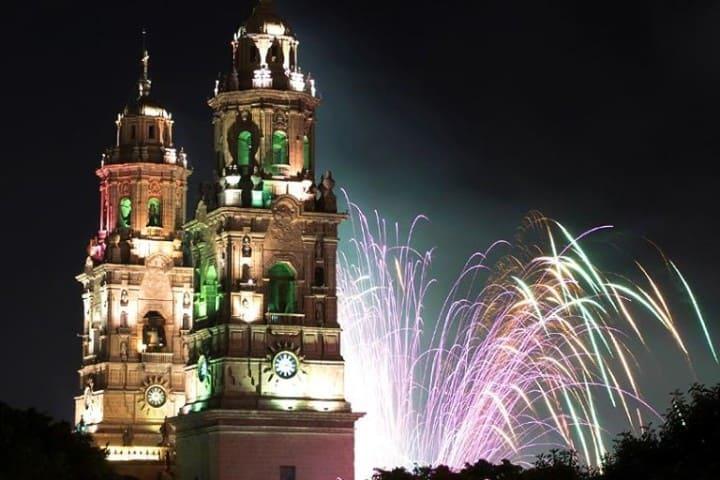 ¿Que hacer en Morelia? Disfruta del show de luces Foto: Archivo