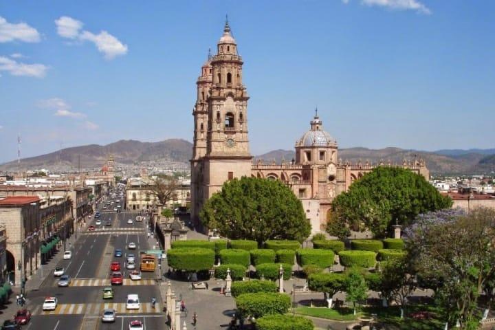 ¿Que hacer en Morelia? Visita el Centro Histórico Foto: PCM Noticias