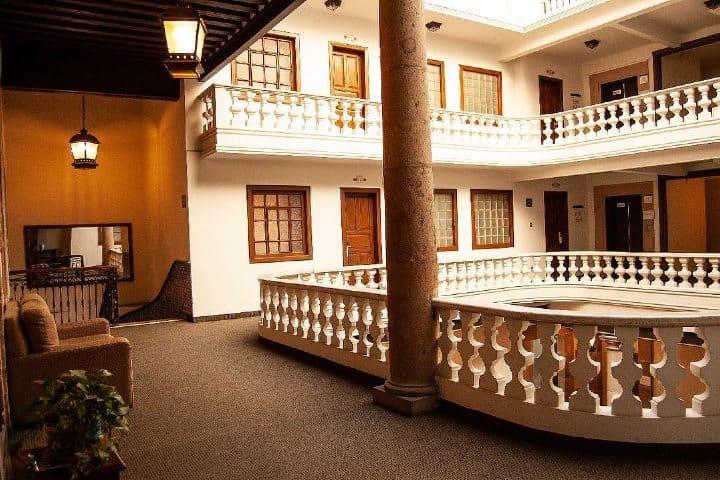 ¿Ya saben dónde hospedarse en Morelia? Esta es una gran opción Foto Hotel Casino Morelia