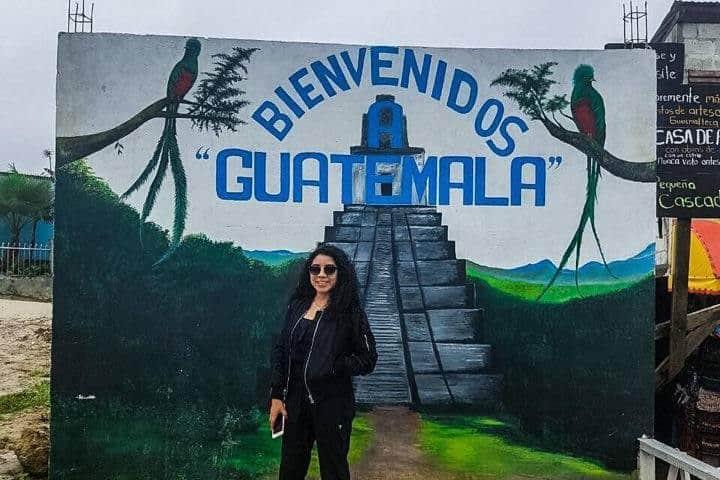 Este es el lugar en donde se une México con Guatemala Foto: Alondra Chaparro