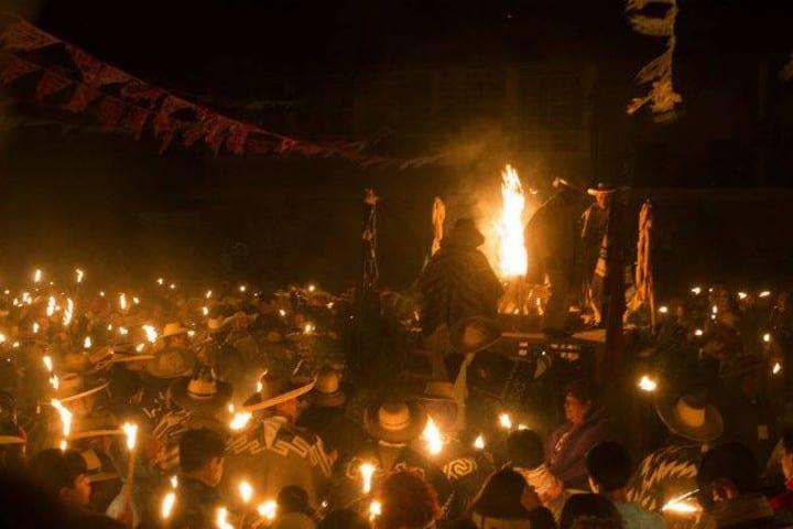 Año Nuevo Purépecha, una de las fiestas y ferias de Morelia Foto Notimex