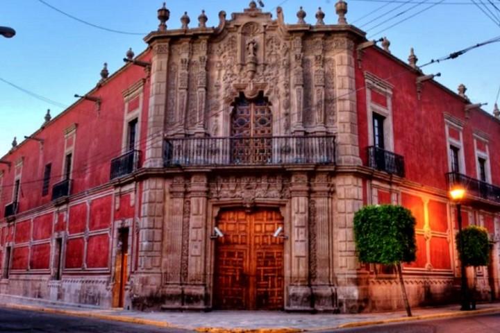 Antiguo Palacio del Conde del Valle de Suchil Foto Jesús Roberto Duarte.
