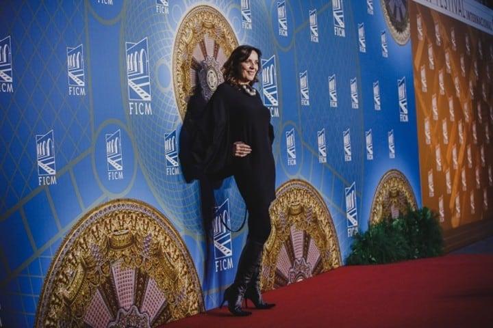Ariane Pellicer en el FICM Foto Festival Internacional de Cine de Morelia