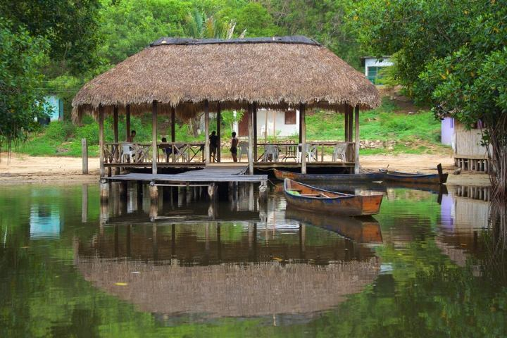 Embarcadero principal de las Lagunas. Foto: Tourism Media