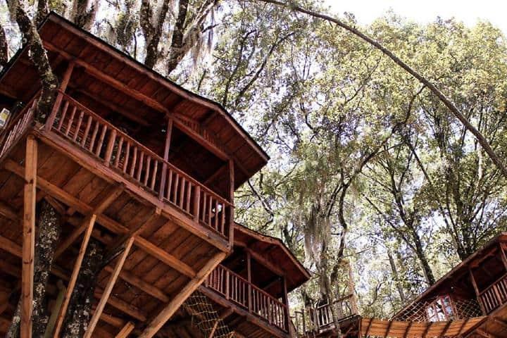 Cabañas elevadas Foto Kali Tree | Facebook