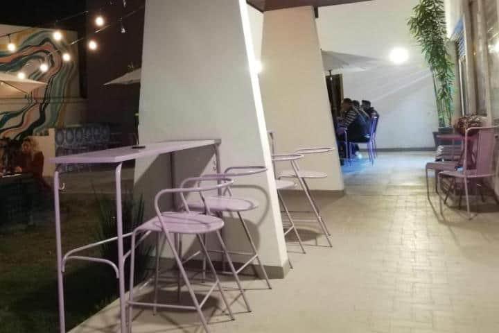 Cafetería de Casa Violeta - Foto Luis Juárez J