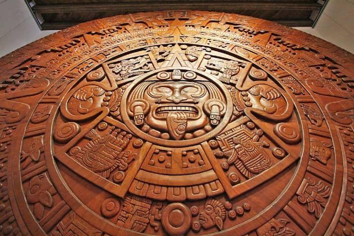 Calendario Azteca. Foto: MUCAL.