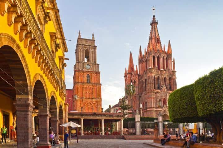 Calle San Miguel de Allende. Foto: Miguel Angel Victoria