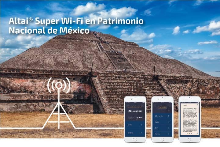 Navega con la Aplicación Explore Teotihuacán Foto: SYSCOM Blog
