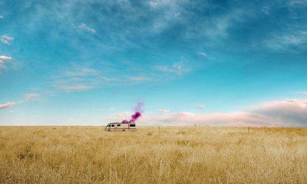 Casa Rodante en el desierto. Foto: Archivo
