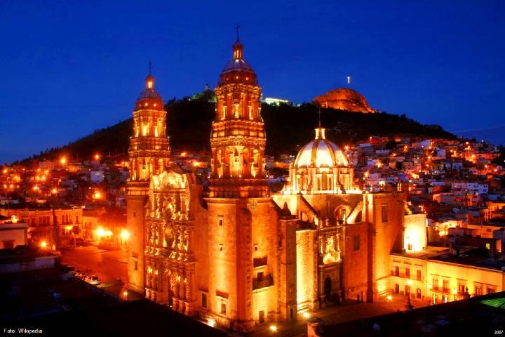 Catedral de Zacatecas. Foto: Gusto por México