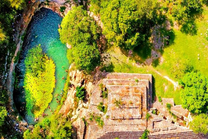 Cenote-Xlacah en Dzibilchaltun. Foto: Directorio de Yucatán