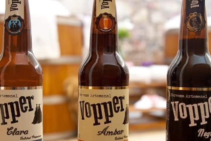 Cervezas Vopper. Foto: Archivo