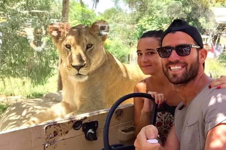 Convive con los animales cara a cara Foto Africam Safari | Facebook
