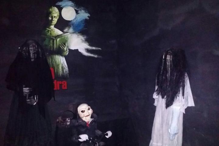 Decoración del Museo del Horror. Foto: Archivo