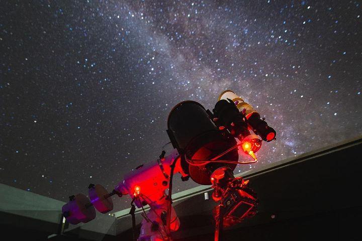 El observatorio es magnifico. Foto: Dark Sky Alqueva.