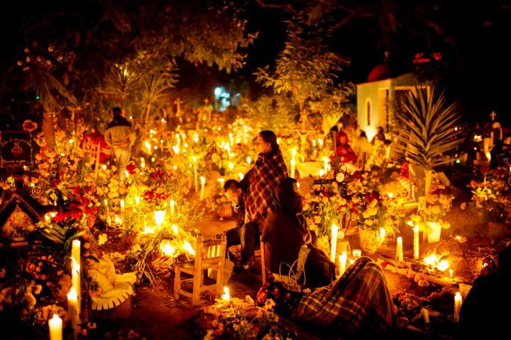 Dia de muertos. Foto: The San Diego Union-Tribune
